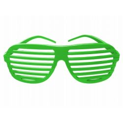 Party okuliare zelené