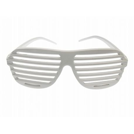 Party okuliare biele