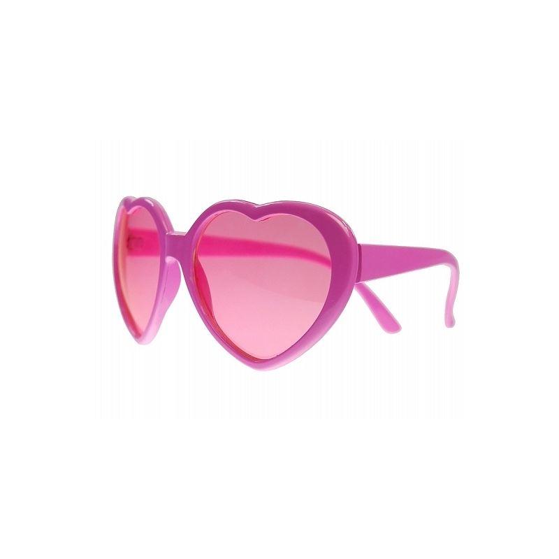Party okuliare srdiečkové ružové d21d4b5aee8