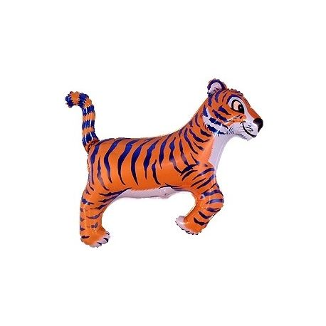Balón Tiger - čierny, modrý