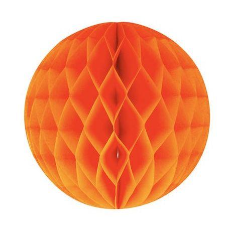 Honeycomb guľa oranžová 20cm