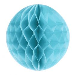 Honeycomb guľa bledomodrá 20cm