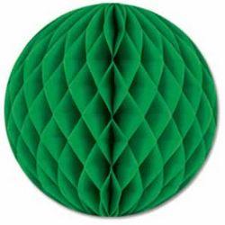 Honeycomb guľa zelená 25cm