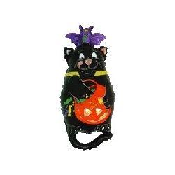 Balón Halloween - mačka