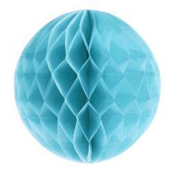 Honeycomb guľa bledomodrá 25cm