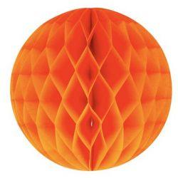 Honeycomb guľa oranžová 30cm