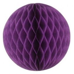 Honeycomb guľa fialová 30cm