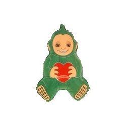 Balón Teletubbies - zelený,červený