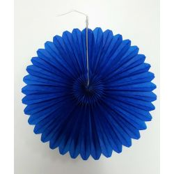 Vejárik modrý 20cm