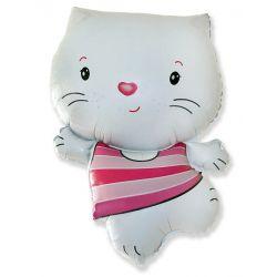 Balón Mačička biela