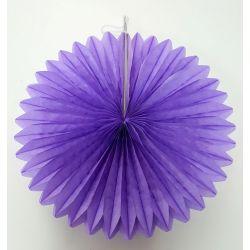 Vejárik fialový 20cm