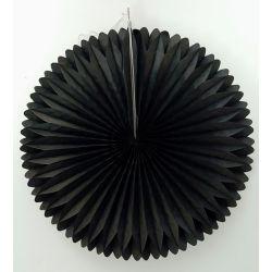 Vejárik čierny 20cm