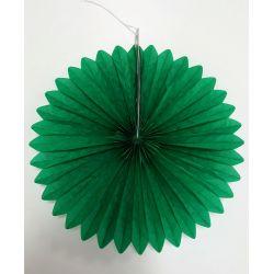 Vejárik zelený 25cm