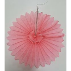 Vejárik ružový 25cm