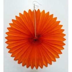 Vejárik oranžový 30cm