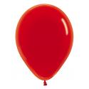 Balón tmavo červený č. 45, Ø 29cm