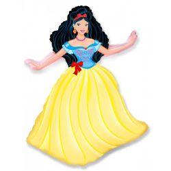 Balón Princezná - žltá