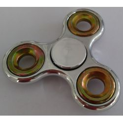 Fidget Spinner chrómový