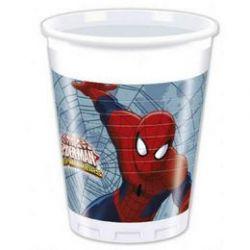 Poháre Spider-man 8ks