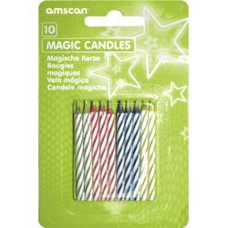 Magické nesfúknuteľné sviečky (10ks)
