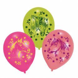 Gumové balóny Charming Horses (6ks)