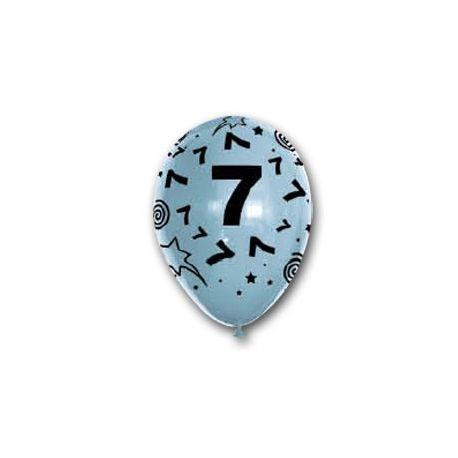 Balón číslo 7
