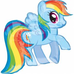 Fóliový balón My little pony 71x68 cm