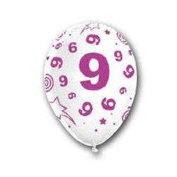 Balón číslo 9