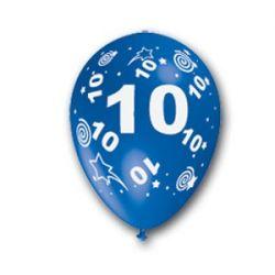Balón číslo 10