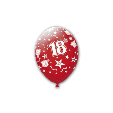 Balón číslo 18