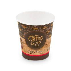 "Papierový pohár ""Coffee to go"" 200 ml (PAP/PE) Ø 73 mm"