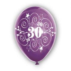 Balón číslo 30 (mix farieb)