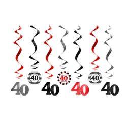 Závesná špirála 40. narodeniny