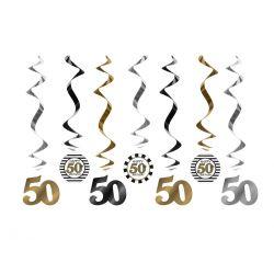 Závesná špirála 50. narodeniny