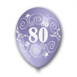 Balón číslo 80 (mix farieb)