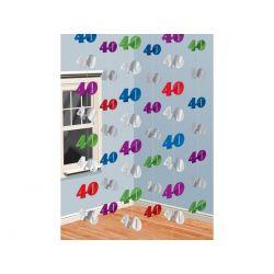 Girlanda čísla 40