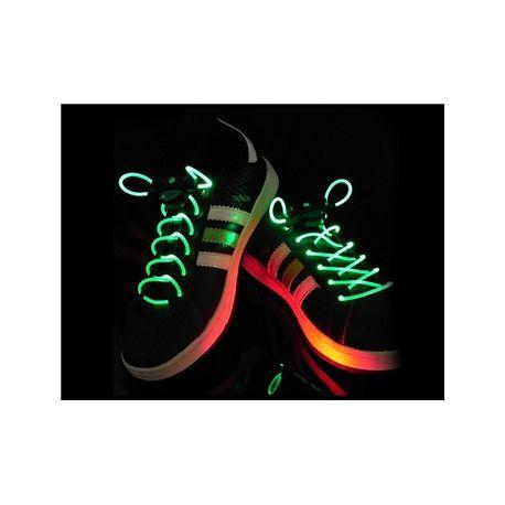3f19ed2c379c Svietiace šnúrky do topánok zelené