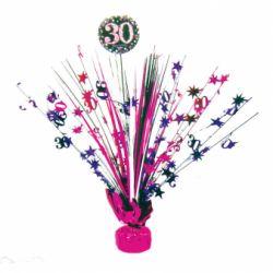 Dekorácia na stôl 30. narodeniny