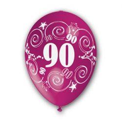 Balón číslo 90 (mix farieb)