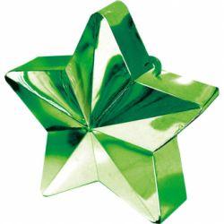 Závažie na balóny hviezda zelená