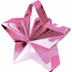 Závažie na balóny hviezda ružová