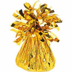 Závažie na balóny fóliové zlaté