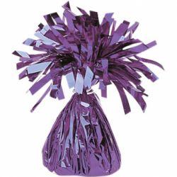 Závažie na balóny fóliové fialové