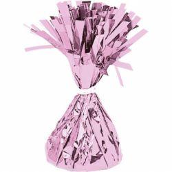 Závažie na balóny fóliové ružové