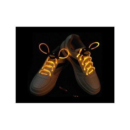 Svietiace šnúrky do topánok žlté