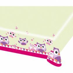 Obrus šťastné sovičky