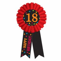 Odznak 18. narodeniny