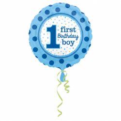 Fóliový balón 1st birthday boy