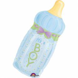 Fóliový balón fľaška chlapec