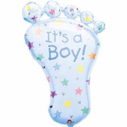 Fóliový balón noha it´s a boy